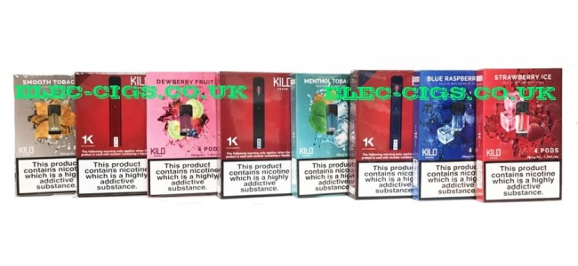 Kilo 1K Pod System and Nicotine Salt E-Liquids