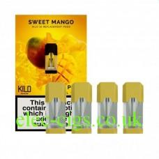 Sweet Mango 20 MG Nicotine Salt Pods x 4 by Kilo