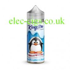 Kingston 100 ML Chilly Willies Range 70-30 Blue Raspberry Slush E-Liquid