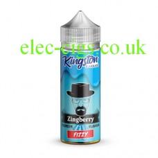 Kingston 100 ML Zingberry Range 70-30 Zingberry Fizzy E-Liquid