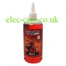 A massive bottle of Red A 500 ML E-Liquid by Kingston