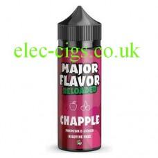 image of a bottle of Major Flavor Reloaded Chapple 100 ML E-Liquid