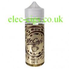 Vanilla Latte 100 ML E-Liquid from Mr. Cafe