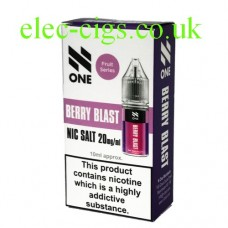 Berry Blast Nicotine Salt 10 ML E-Liquid by Debang