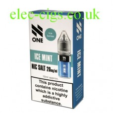 Ice Mint Nicotine Salt 10 ML E-Liquid by Debang