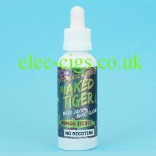 Mango Lychee Naked Tiger E-Juice 60 ML