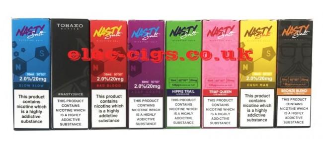Nasty Juice High Nicotine Salt