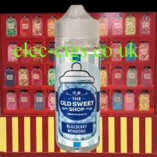Blueberry Bonbons 100 ML E-Liquid by The Old Sweet Shop