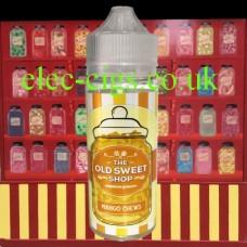 Mango Chews 100 ML E-Liquid by The Old Sweet Shop