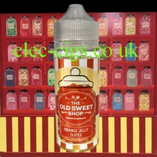 Orange Jelly Slices 100 ML E-Liquid by The Old Sweet Shop