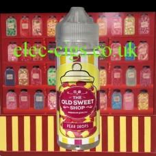 Pear Drops 100 ML E-Liquid by The Old Sweet Shop