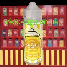 Pineapple Cubes 100 ML E-Liquid by The Old Sweet Shop