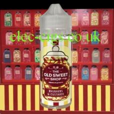 Rhubarbs and Custards 100 ML E-Liquid by The Old Sweet Shop