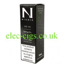 NicNic 100 VG Nicotine Booster Shot 10 ML