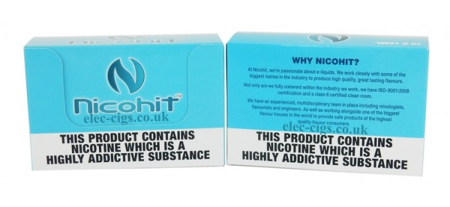 Nicohit 10 ML Premium E-Liquids