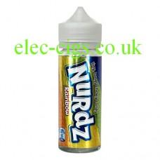 Image of a bottle of Nurdz Rainbow Flavour 100 ML E-Liquid
