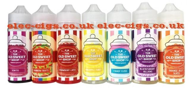 The Old Sweet Shop 100 ML E-Liquids