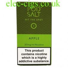 Apple High Nicotine E-Liquid by Pod-Salt