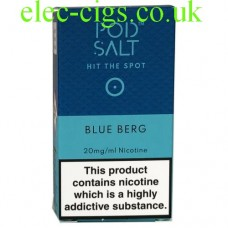 Blue Berg High Nicotine E-Liquid by Pod-Salt