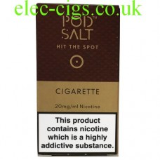 Cigarette High Nicotine E-Liquid by Pod-Salt