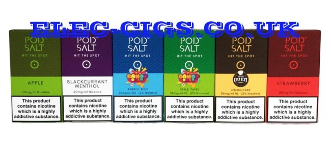 Nic-Salts and Pods