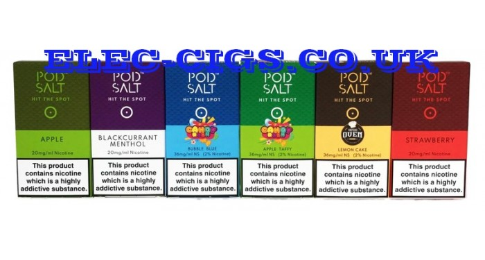 Nic-SaltS, Pods & 'All-in-Ones'