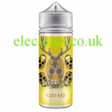 Poison: 100 ML Custard Zero Nicotine 50-50 (VG/PG) E-Liquid