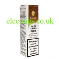 Extra Special Golden Virginia 10 ML E-Liquid by iFresh