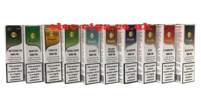 iFresh Extra Special 10 ML E-Liquids