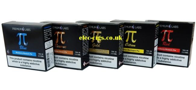 Premium Labs 'Pi' Range E-Juice