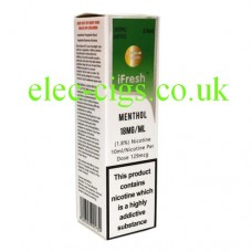 Extra Special Menthol 10 ML E-Liquid by iFresh