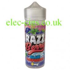 Blue Raspberry 100 ML by RAZZ Berry E-Liquids