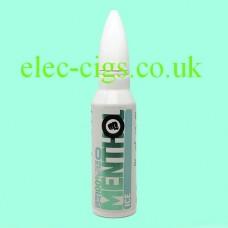image shows a bottle of Riot Squad 50 ML E-Liquid Menthol Ice