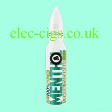 image shows a bottle of Riot Squad 50 ML E-Liquid Menthol Lemon Cucumber