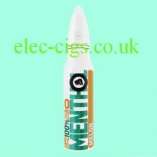 image shows a bottle of Riot Squad 50 ML E-Liquid Menthol Melon