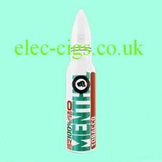 image shows a bottle of Riot Squad 50 ML E-Liquid Menthol Tobacco