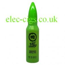Image shows a bottle of Riot Squad 50 ML E-Liquid Smashed Apple Pie