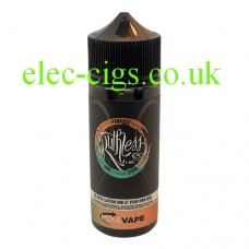 image shows  a large bottle of Ruthless E-Liquid 100 ML Paradize