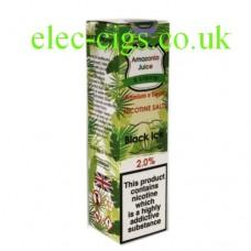 Black Ice Nicotine Salt E-Liquid from Amazonia