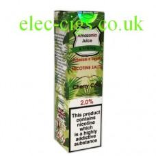 Cherry Cola Nicotine Salt E-Liquid from Amazonia