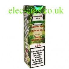 Fresh Watermelon Nicotine Salt E-Liquid from Amazonia