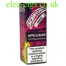 Apple and Blackcurrant 20 MG Nicotine Salt E-Liquid from Scripture