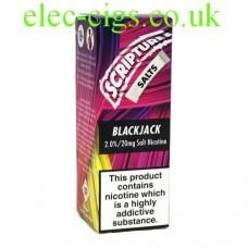 Black Jack 20 MG Nicotine Salt E-Liquid from Scripture