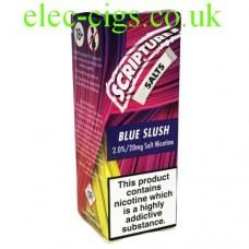 Blue Slush 20 MG Nicotine Salt E-Liquid from Scripture