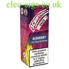 Blueberry 20 MG Nicotine Salt E-Liquid from Scripture