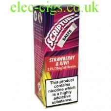 Strawberry Kiwi 20 MG Nicotine Salt E-Liquid from Scripture
