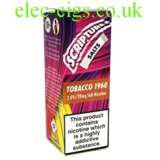 Tobacco 20 MG Nicotine Salt E-Liquid from Scripture