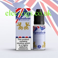 Blue Crystal 10 ML E-Liquid from Signature
