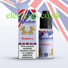 Blueberry 10 ML E-Liquid from Signature