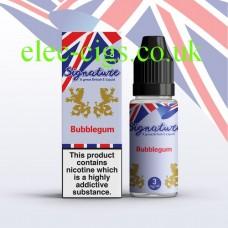 Bubblegum 10 ML E-Liquid from Signature